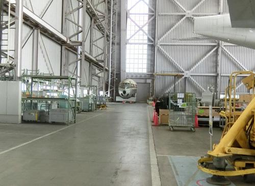 JAL工場見学! その14。