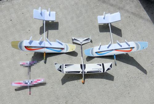 飛ばしたいのはこの4機ですが・・・、