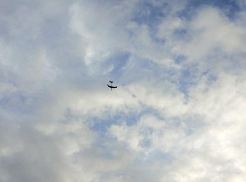 1日、kh-18akb、飛行ちう~! その2!