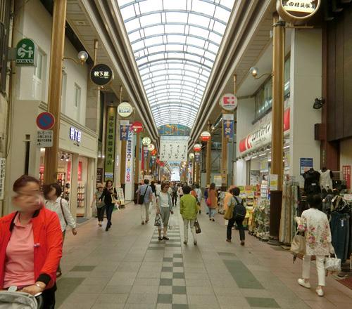 長崎のメインストリート。