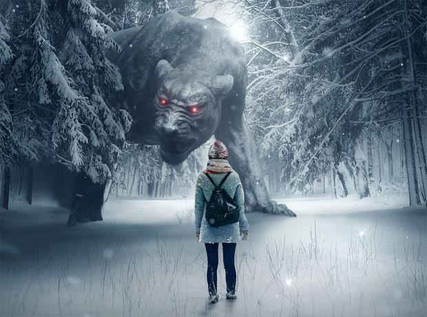 怖い夢のイメージ
