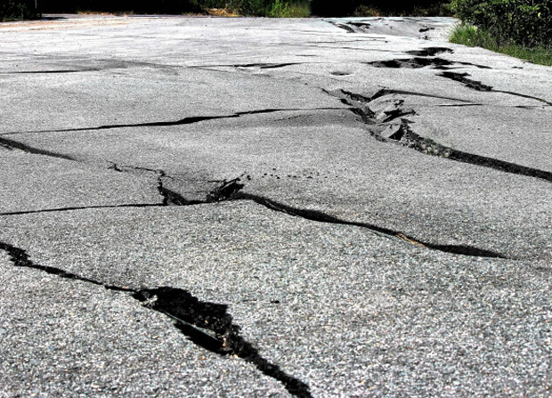 地震のイメージ