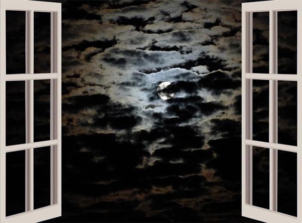 夜夢を見るイメージ