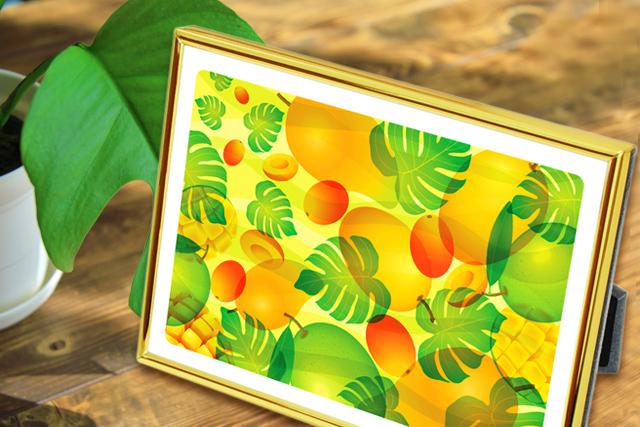 風水果実アートプレミアムのインテリアイメージW3