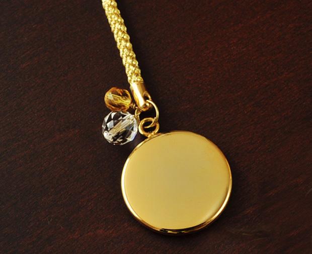 ストラップゴールドメタル金貨イメージ
