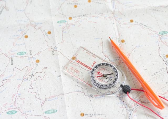 方位地図イメージ