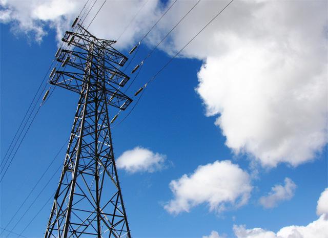 送電線イメージ