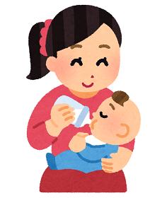 ミルク赤ちゃん