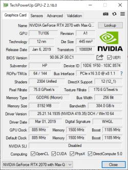 RTX 2070 Max-Q_GPU-Z_01