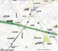 赤山街道越谷道地図 F