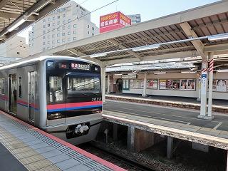 京成3023F 京成成田駅にて