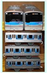 前回製品の京成3050形(3051F)