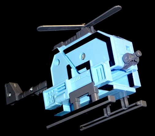 数字変形バンゴウダー 戦闘ヘリ