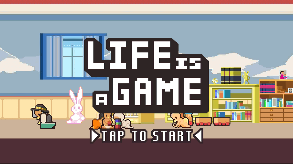 life is a game スクショ タイトル画面