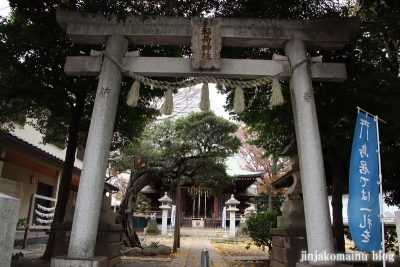 中台稲荷神社(板橋区若木)1
