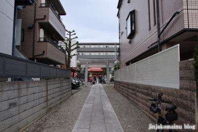 稲荷氷川神社(板橋区坂下)1