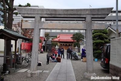 稲荷氷川神社(板橋区坂下)2