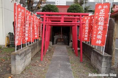 稲荷氷川神社(板橋区坂下)9