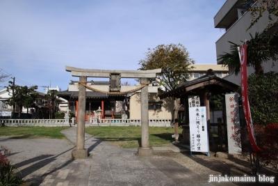 新田稲荷神社(足立区新田)1