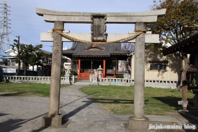 新田稲荷神社(足立区新田)2