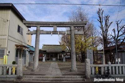 宮城氷川神社(足立区宮城)1