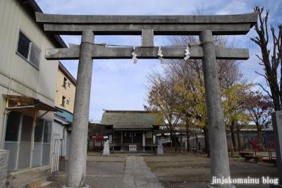 宮城氷川神社(足立区宮城)3