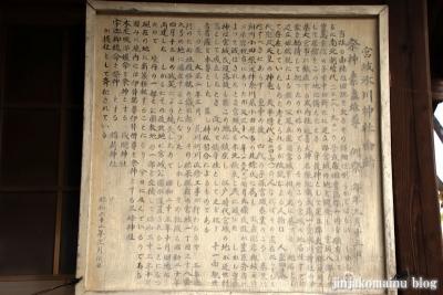宮城氷川神社(足立区宮城)10