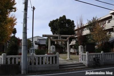 小台天祖神社(足立区小台)1