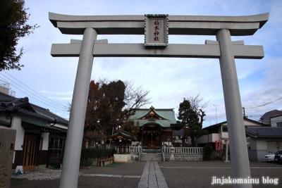 柏木神社(北区神谷)1