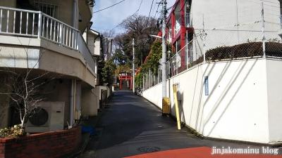 東山稲荷神社(新宿区下落合)1