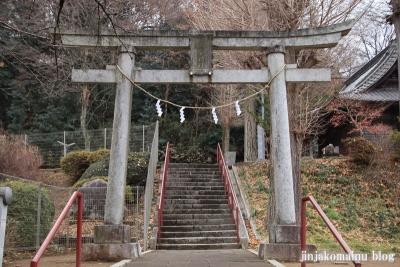 高宰神社(八王子市散田町)1