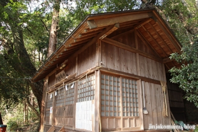 神明神社(八王子市裏高尾町)5