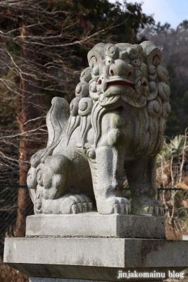 白山神社(八王子市廿里町)6