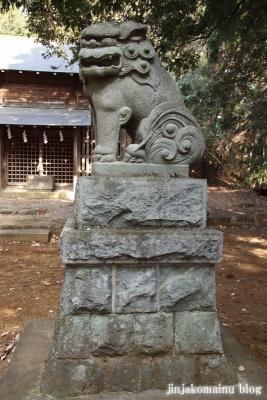 白山神社(八王子市廿里町)17