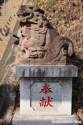 白山神社(八王子市廿里町)28