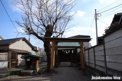 御嶽神社(八王子市廿里町)1