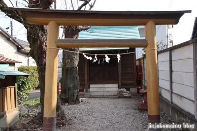 御嶽神社(八王子市廿里町)2