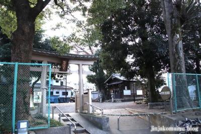 熊野神社(八王子市東浅川町)1