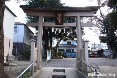 熊野神社(八王子市東浅川町)2