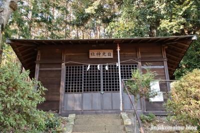 日光神社(八王子市長房町)3