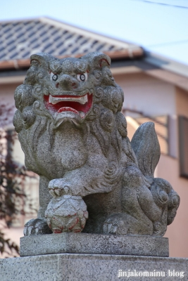 長房山王神社(八王子市長房町)4