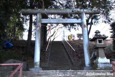 長房山王神社(八王子市長房町)2