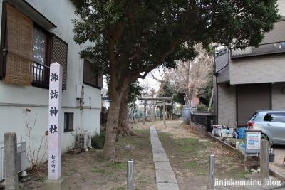 松本諏訪神社(江戸川区松本)1