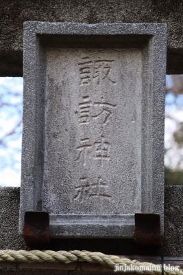 松本諏訪神社(江戸川区松本)4
