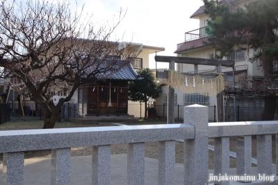 本一色北野神社(江戸川区本一色)1
