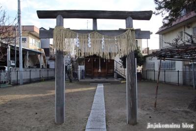 本一色北野神社(江戸川区本一色)2