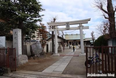 下小松天祖神社(葛飾区新小岩)1