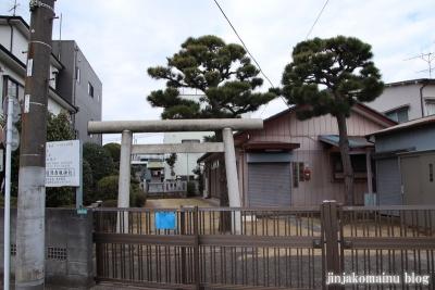 日枝神社(江戸川区上一色町)1