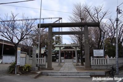 上小松天祖神社(葛飾区東新小岩)1