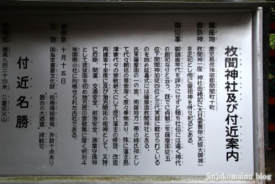 枚聞神社(指宿市開聞十町)5